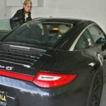 Samantha Ronson and Porsche911