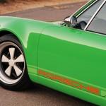 2011 Singer Racing Green Porsche 911 Side view