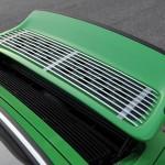 2011 Singer Racing Green Porsche 911 Engine grid
