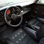 2011 Singer Racing Green Porsche 911 Interior