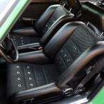 2011 Singer Racing Green Porsche 911 Interior Seats