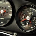Singer Racing Orange Porsche 911 Interior Dashboard
