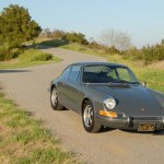 Steve McQueen 1970 porsche 911s Front three quarter view