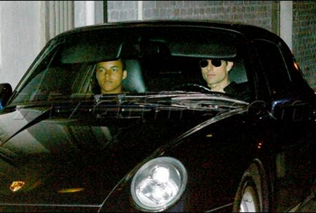 Tom Cruise and son Porsche 911