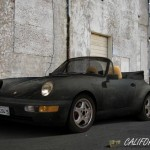 Californication black Porsche 911 Carrera Cabrio