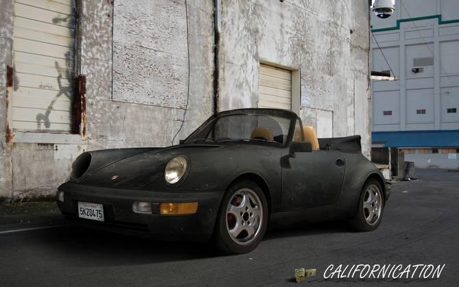 Californication How Hank Lost His Porsche S Headlight
