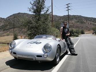 celebrity car kevin dillons porsche 550 spyder - Porsche Spyder 550 Replica