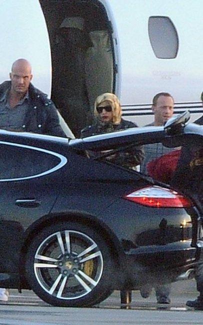 Lady Gaga and Porsche Panamera