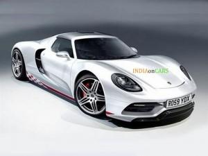 Porsche mid-engine new supercar