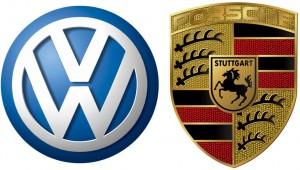 VW & Porsche logos