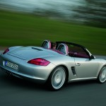 2008 Porsche Boxster RS 60 Spyder wallpaper Rear angle side view