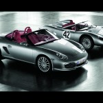 2008 Porsche Boxster RS 60 Spyder wallpaper Side angle view at 550 spyder