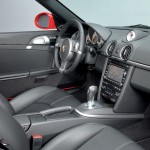 2009 Guards Red Porsche Boxster S wallpaper Interior
