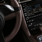 2011 Black Porsche 911 Carrera 4 Wallpaper Interior