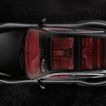 2011 Black Porsche 911 Targa 4S Wallpaper Top view