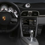 2011 Black Porsche 911 Targa 4S Wallpaper Interior