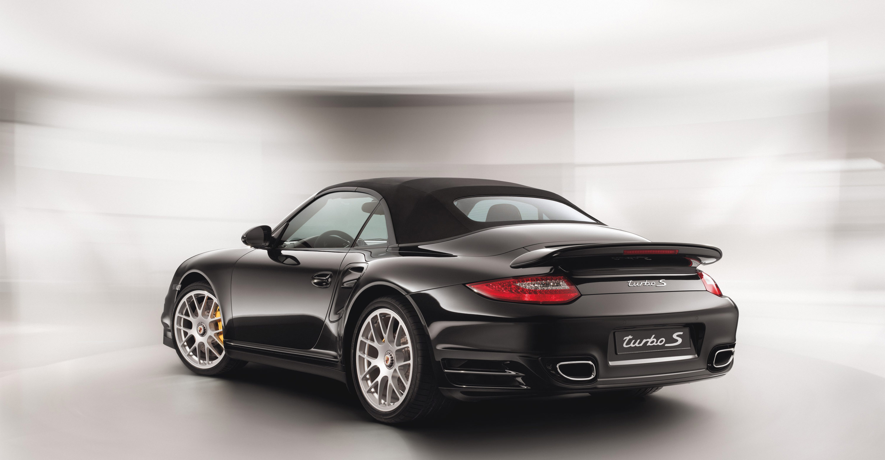 2011 black porsche 911 turbo s cabriolet wallpapers