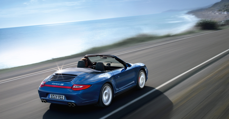 2011 Blue Porsche 911 Carrera