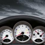 2011 Blue Porsche 911 Carrera 4S Cabriolet Wallpaper Interior Dashboard