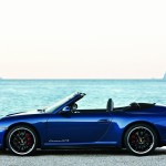2011 Blue Porsche 911 Carrera GTS Wallpaper Side view