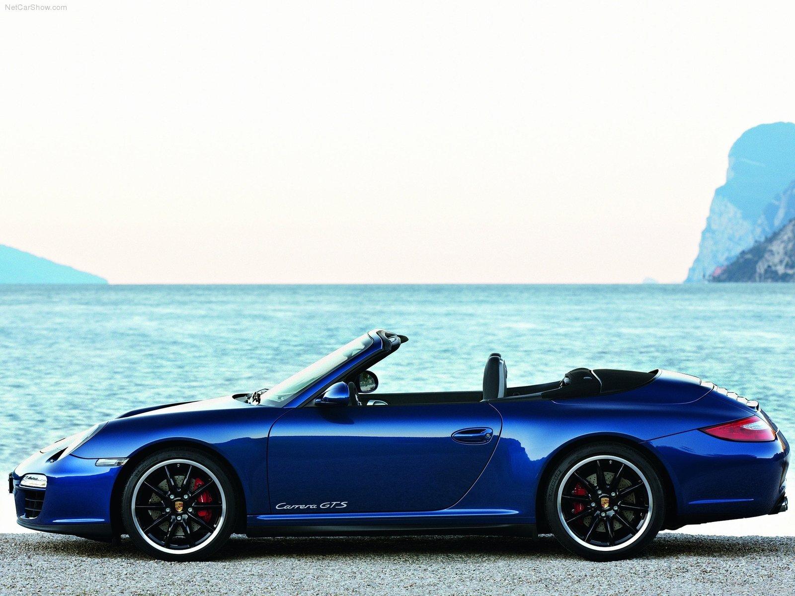 2011 Blue Porsche 911 Carrera Gts Wallpapers
