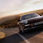 2011 Brown Porsche 911 Carrera S Wallpaper Front angle view