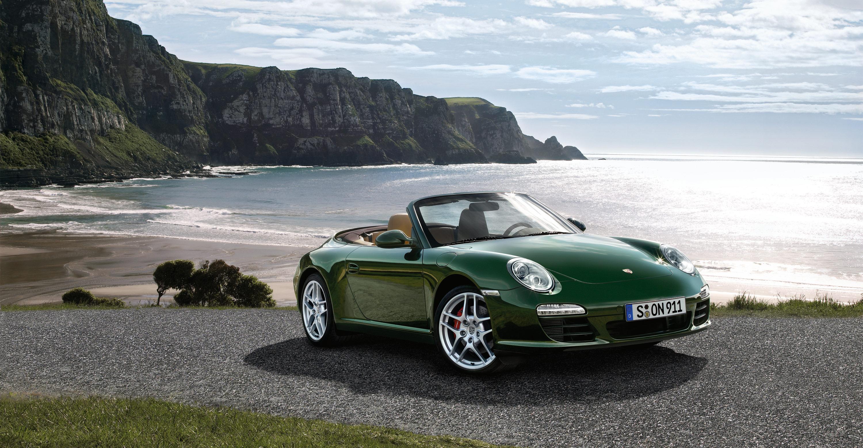2011 green porsche 911 carrera s cabriolet wallpapers - Porsche 911 carrera s wallpaper ...