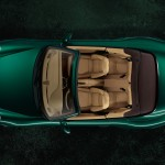 2011 Green Porsche 911 Carrera S Cabriolet Wallpaper Top view