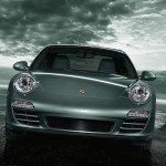 2011 Green Porsche 911 Targa 4 Wallpaper Front view