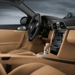 2011 Green Porsche 911 Targa 4 Wallpaper Interior