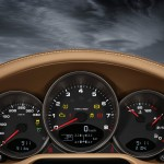 2011 Green Porsche 911 Targa 4 Wallpaper Interior Dashboard