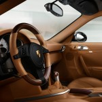 2011 Grey Porsche 911 Turbo Wallpaper Interior