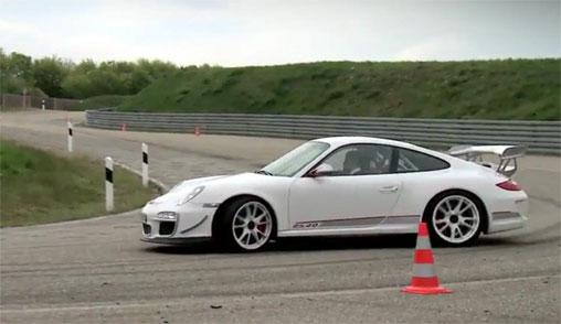 Porsche video: 2011 Porsche 911 GT3 RS 4.0 on the Track