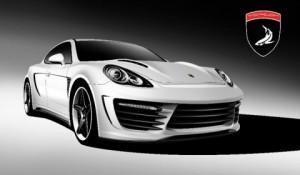 2011 Porsche Panamera Stingray GTR by TopCar Front angle