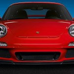 2011 Red Porsche 911 GT3 Wallpaper Front view