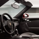 2011 Red Porsche 911 Turbo Cabriolet Wallpaper Interior