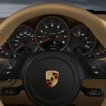 2011 Red Porsche 911 carrera 4S Wallpaper Interior Steering wheel