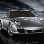 2011 Silver Porsche 911 Carrera Front angle view