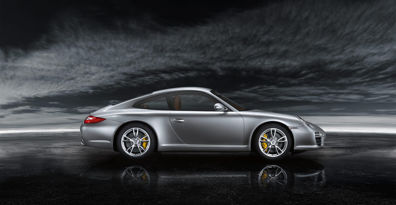 2011 Silver Porsche 911 Carrera Wallpapers