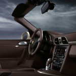 2011 White Porsche 911 Carrera Cabriolet Wallpaper Interior