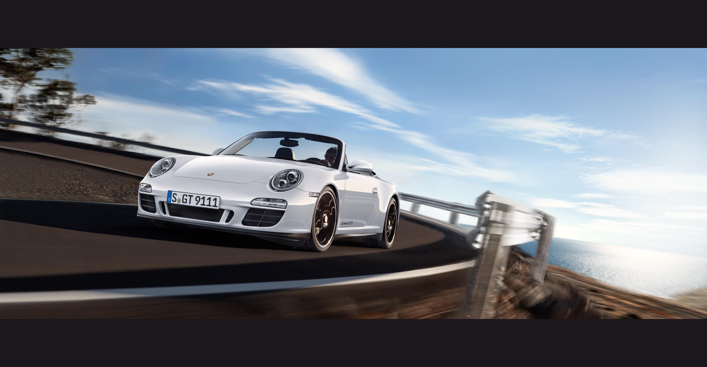 2011 White Porsche 911 Carrera