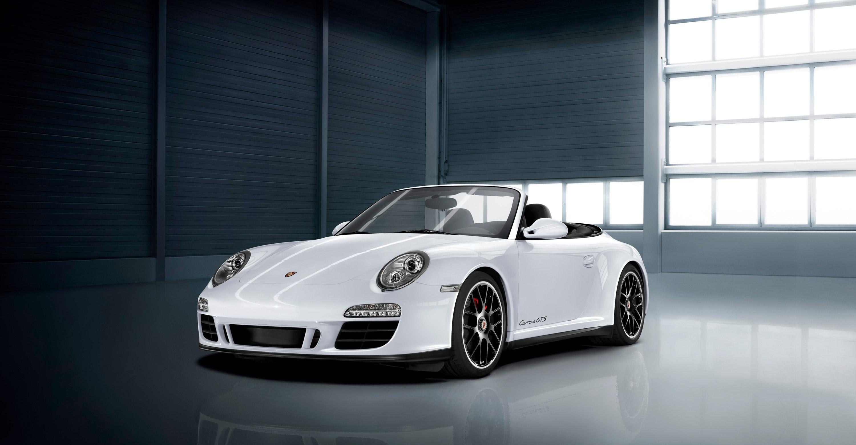 2011 White Porsche 911 Carrera Gts Cabriolet Wallpapers