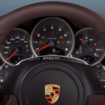 2011 White Porsche 911 Carrera GTS Wallpaper Interior Dashboard