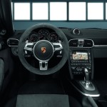 2011 White Porsche 911 Carrera GTS Wallpaper Interior
