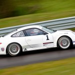 2011 White Porsche 911 GT3 Cup Wallpaper Side view