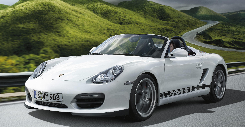 2011 Porsche Boxster Spyder Wallpapers