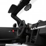 2011 Carrara White Porsche Boxster Spyder wallpaper Interior