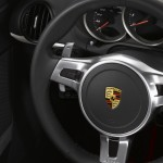 2011 Carrara White Porsche Boxster Spyder wallpaper Interior Steering vheel