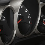 2011 Carrara White Porsche Boxster Spyder wallpaper Interior Dashboard