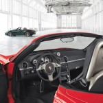 2011 Guards Red Porsche Boxster S wallpaper Interior